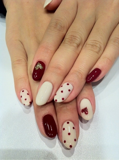2012 Nail Art Ideas for Natural Nails.