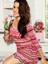 Lea Michele for Candie's Spring 2012 Campaign