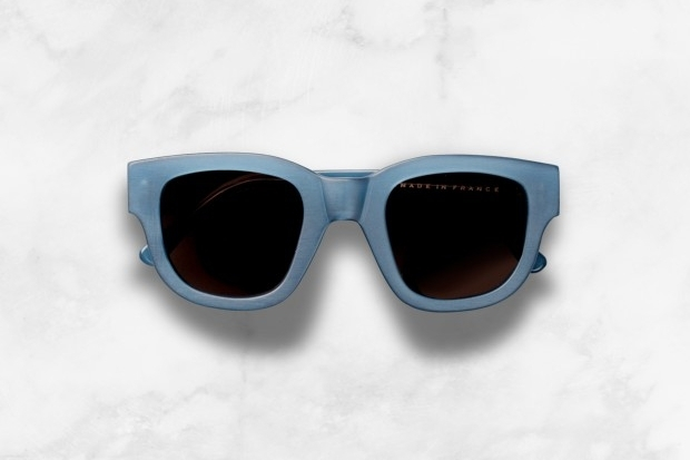 ACNE Blue Frame Sunglasses 2012