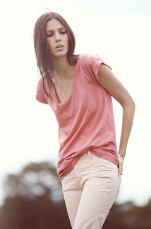 Ruby Aldridge for MiH Jeans Spring/Summer 2012 Campaign