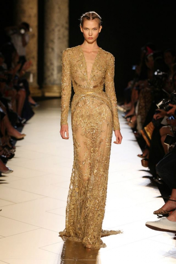 Elie saab haute couture fall 2012 collection for How to become a haute couture designer