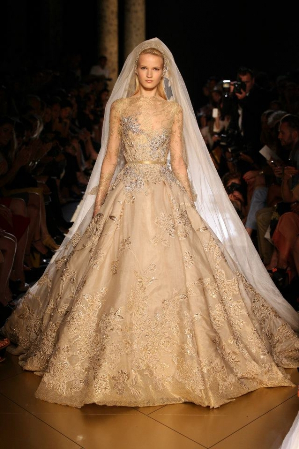 Elie saab haute couture fall 2012 collection for Elie saab 2012 wedding dresses