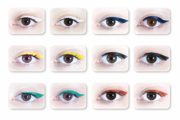 Mily Makeup Colored Stick-On Eyeliner Strips