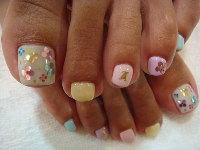 Nail Art Pictures Toes : Chic toe nail art ideas for summer