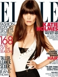 Katie Holmes Covers Elle August 2012