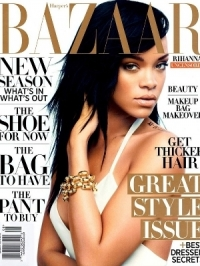 Rihanna Talks Love, Diet and Music With Harper's Bazaar August 2012