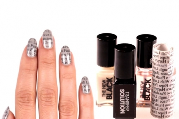 Newsprint Nail Art Sets by Sephora