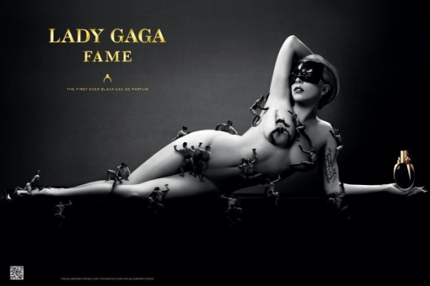 Lady Gaga Fame Fragrance Promo