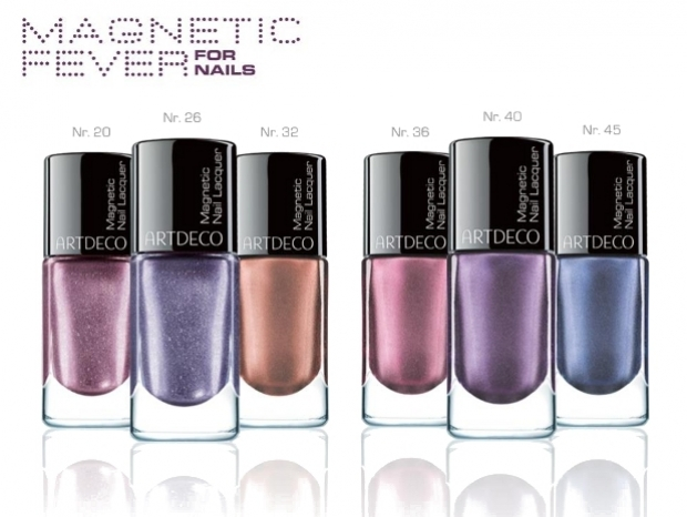ArtDeco Magnetic Fever Fall 2012 Nail Polish Collection