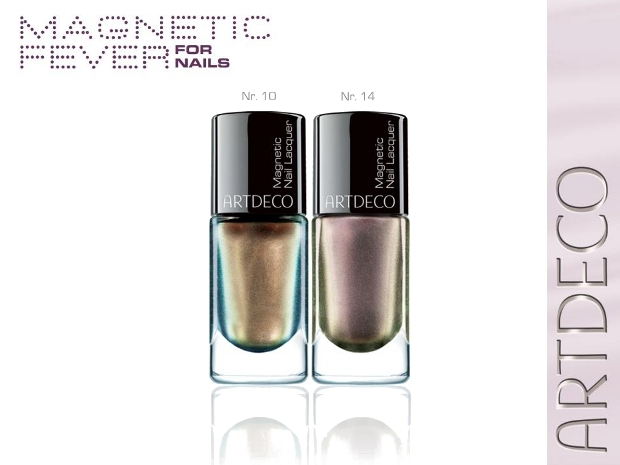 Artdeco magnetic fever fall nail