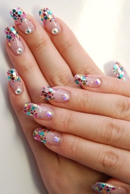 Chic and simple nail art designs for summer - Nail art chic ...