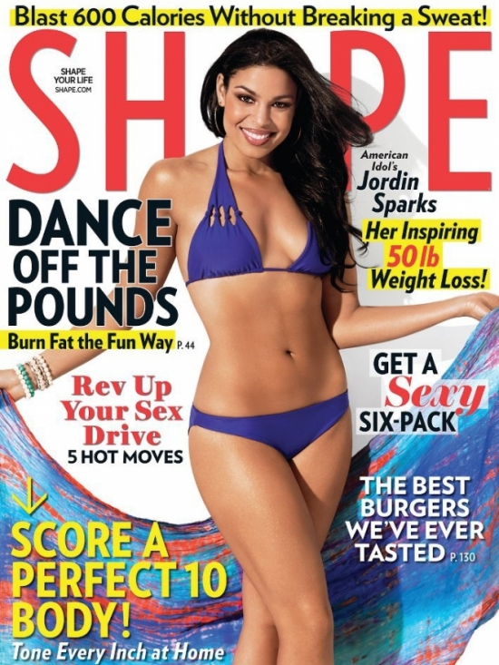 Jordin Sparks Talks Weight Loss with SHAPE Magazine 2012