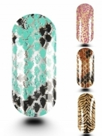 Sizzling Animal Print Nail Wraps by Kooky