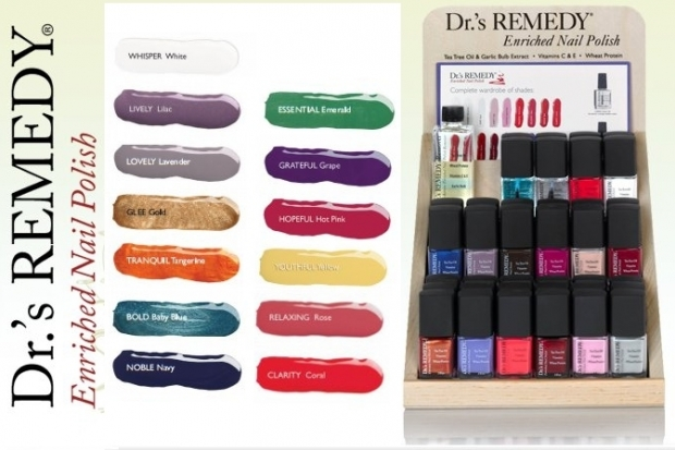 Drs Remedy Enriched Nail Polish Line