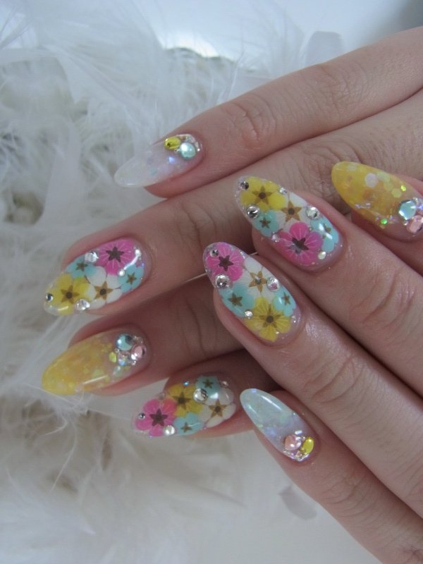 Acrylic nail art designs for summer prinsesfo Choice Image