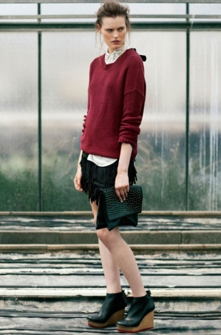 Bershka July 2012 Lookbook
