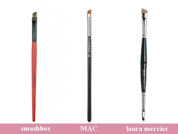Makeup Brushes - Brow and Eye Liner Brushes