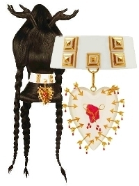 Delfina Delettrez  Hair-Stirring 'Love is the Hair' Jewelry Collection