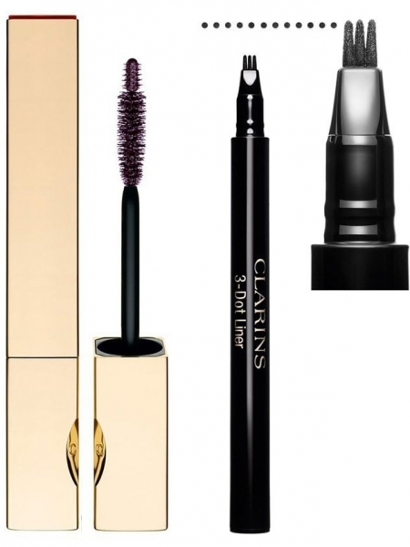 Clarins Fall 2012 Makeup - Liquid Liner and Mascara