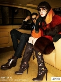 Jimmy Choo Fall Winter 2012 Ad Campaign