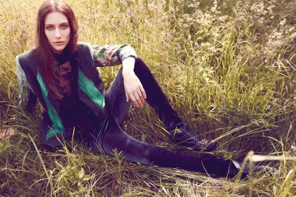 Nicole Miller Fall 2012 Campaign