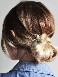 How to Style a Gorgeous Low Bun