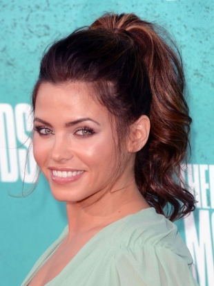 Jenna Dewan Hairstyle 2012 MTV Movie Awards