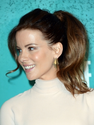Kate Beckinsale Hairstyle 2012 MTV Movie Awards