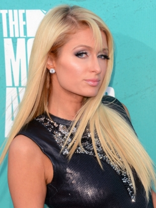 Paris Hilton Hairstyle 2012 MTV Movie Awards