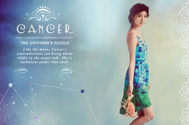 Cancer Free People Zodiac June 2012 Catalog