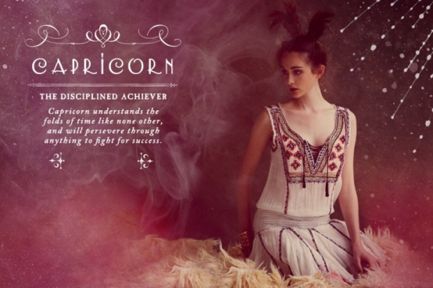 Capricorn Free People Zodiac June 2012 Catalog