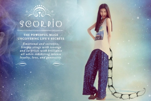 Scorpio Free People Zodiac June 2012 Catalog