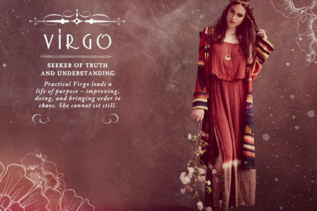 Virgo Free People Zodiac June 2012 Catalog
