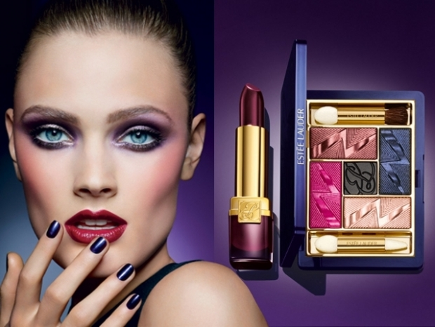 Estee Lauder Violet Underground Fall 2012 Makeup Collection