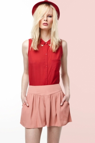 Bershka June 2012 Lookbook