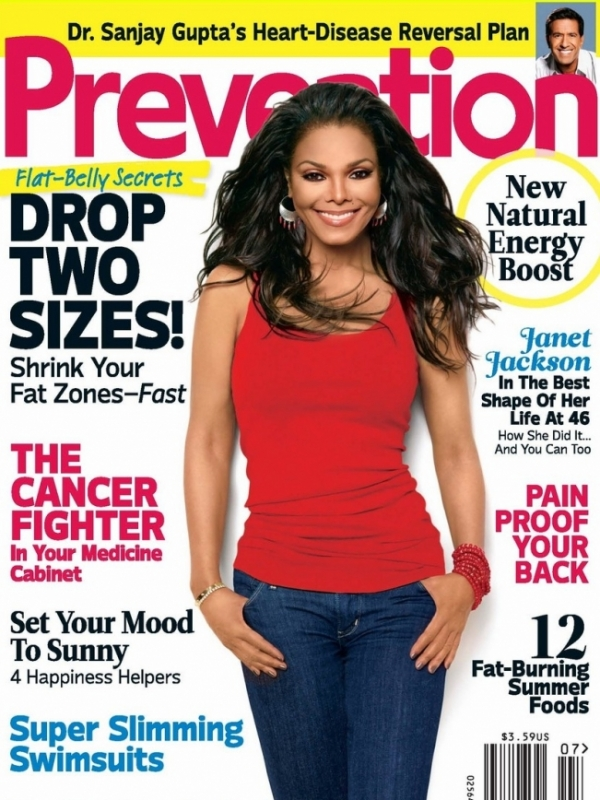 Janet Jackson Covers Prevention July 2012
