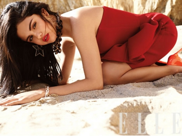 Selena Gomez Covers ELLE July 2012