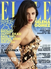Selena Gomez Talks Justin Bieber and Spring Breakers with ELLE July 2012