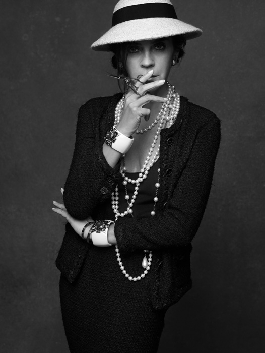 Karl Lagerfeld and Carine Roitfeld: 'The Little Black Jacket: Chanel's Classic Revisited'