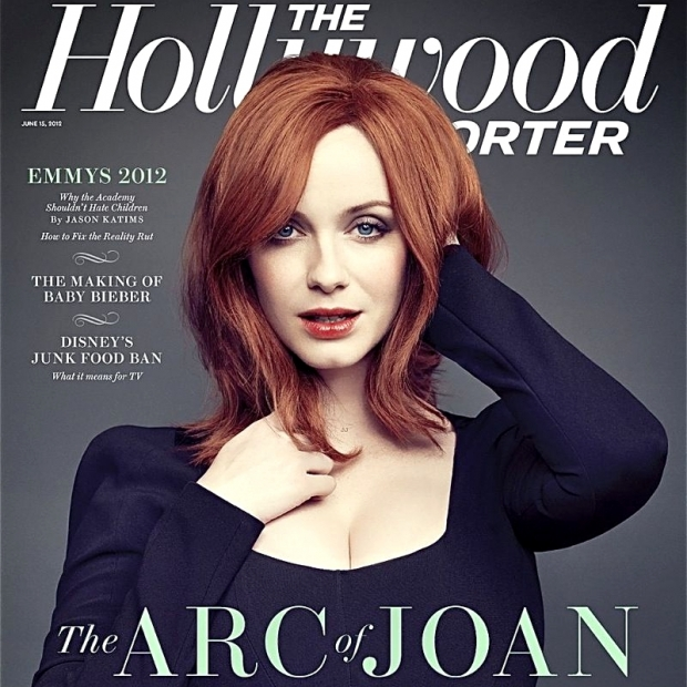 Christina Hendricks Covers The Hollywood Reporter