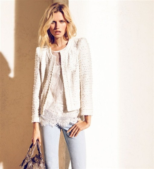 Massimo Dutti June 2012 Lookbook.