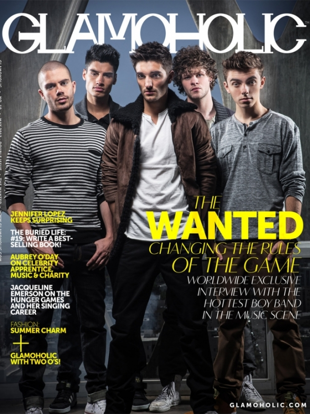 The Wanted for Glamoholic Magazine