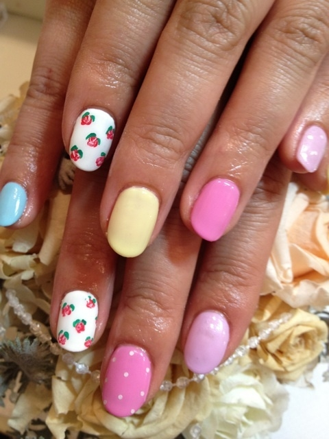 Summer 2012 nail art new designs prinsesfo Images