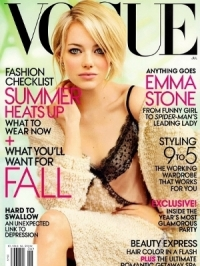 Emma Stone Covers Vogue July 2012