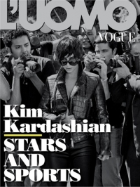 Kim Kardashian Covers L'Uomo Vogue Italy July 2012
