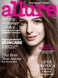 Anne Hathaway Covers Allure July 2012