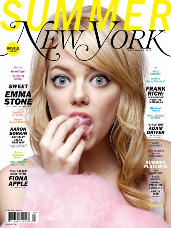 Emma Stone Covers New York Magazine June/July 2012