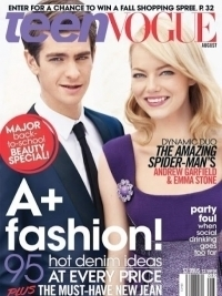 Emma Stone & Andrew Garfield for Teen Vogue August 2012