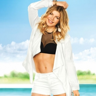 Fergie Covers Self July 2012
