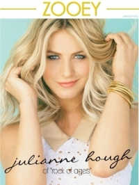 Julianne Hough Covers Zooey Magazine June/July 2012